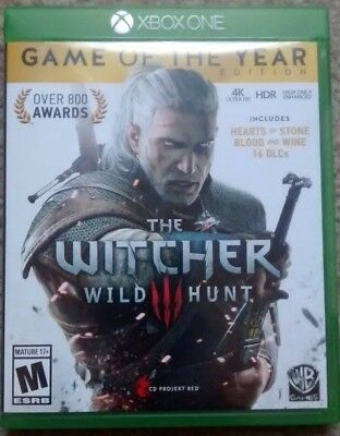The Witcher 3 III Wild Hunt Game Of The Year Edition (Xbox One)