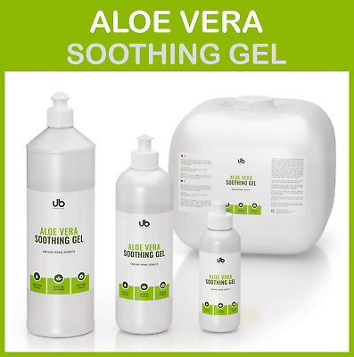 Aloe Vera Cosmetic Gel - Soothing and Deeply Hydrating Serum with Herbal Extract