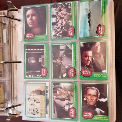 Star Wars and Empire Strikes Back - Trading Card lot in perfect shape