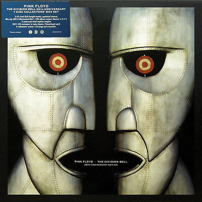 Pink Floyd – The Division Bell (NEW 20th Anniversary Super Deluxe Box Set 2014)