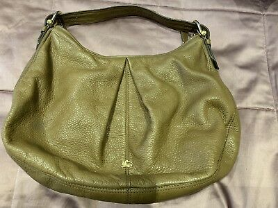 Burberry shoulder Bag In tan Genuine