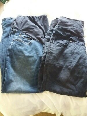 over the bump maternity trousers size 16