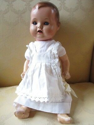 Pretty Antique 14 inch Composition German Baby Doll
