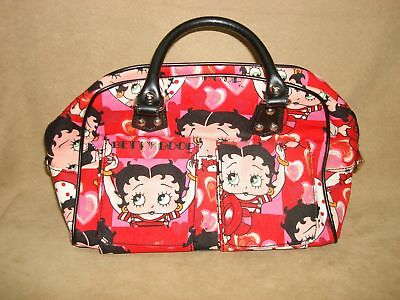 2008 New Never Used Betty Boop Purse Pocketbook W/strap & Handles!