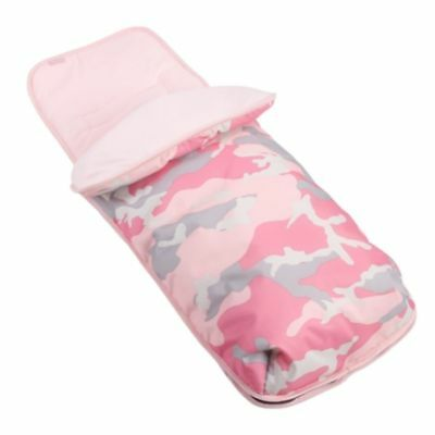 New My Babiie *katie Piper* Pink Camo Pushchair Footmuff Baby Cosytoes