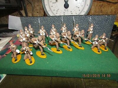 A Call To Arms Hand Painted British Infantry In Khaki  Job Lot 1:32 Scale