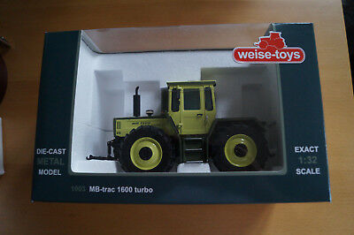 Weise-toys MB trac Modell 1600 turbo 1:32 1003