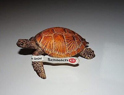 Sea Turtle~ Schleich with Tag~Retired