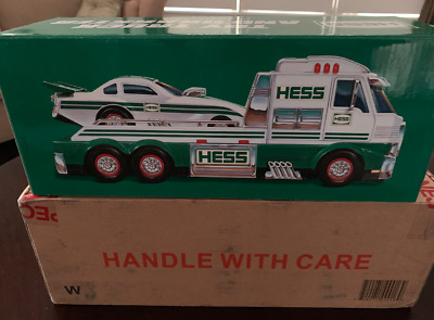 BRAND NEW 2016 Hess Toy Truck and Dragster - NEVER OPENED