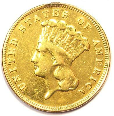 1889 Indian Three Dollar Gold Coin ($3) - XF Details (EF) - Rare Key Date Coin!