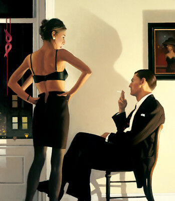 Jack Vettriano -  Night In The City    -  Limited-Editions
