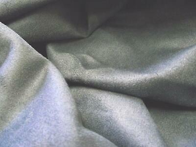 Faux Suede Suedette Fabric Material 150g - NEW GREY