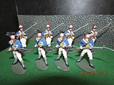 A Call To Arms Hand Painted Continental Infantry Regular Awi Job Lot 1:32 Scale