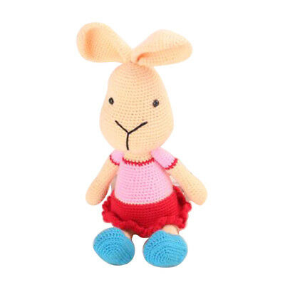 Crochet Kit for Knitting Animal Rabbit Doll Handmade Projects Easy To Learn