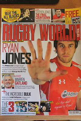 rugby world wales december 2010
