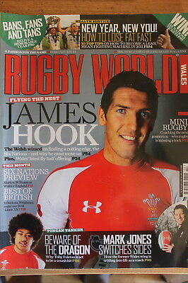 rugby world wales february 2011