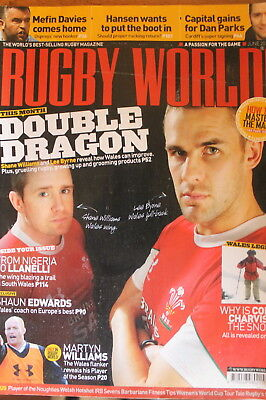 rugby world wales june 2010