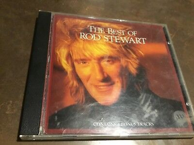 The Best Of Rod Stewart - Greatest Hits Cd - Sailing / Maggie May / Baby Jane +