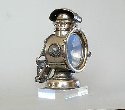 Ancienne lampe de vélo Lanterne, Riemann, non carbure, Lantern for bicycle lamp