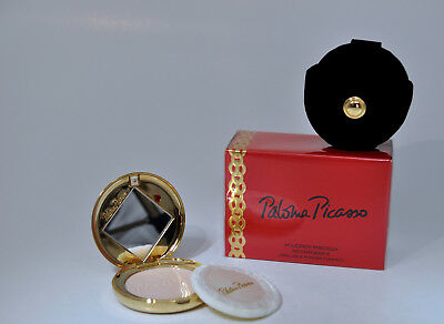 Paloma Picasso Refillable Powder Compact 8 Gr. Vintage