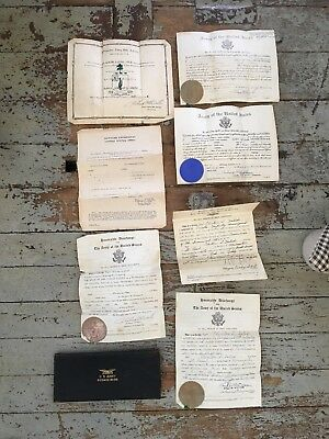 1933 US Army 35th Infantry Regiment Discharge Papers