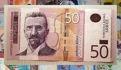 ( SERBIA 2014 ). Billete de 50 Dinar. Vf+