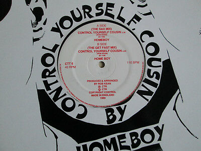 "HOMEBOY - Control yourself cousin * RAR * 12"" * CTR *"