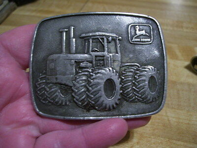 Vintage 1975 John Deere Advertising Belt Buckle RARE