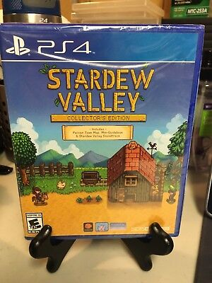 PS4 Stardew Valley Collector's Edition Brand New Game Sony Playstation 4 Free SH