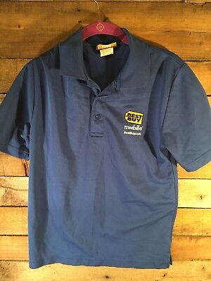 BEST BUY Mobile Employee Polo Shirt Size XS Store