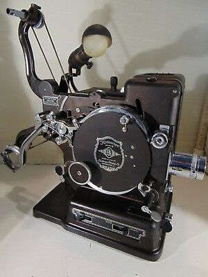Kodak Kodascope Model B, 16mm Projector (Works), Kodascope , Bulb, Case 1990's