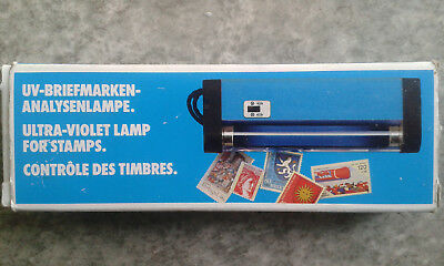 Leuchtturm UV-Briefmarken-Analysenlampe