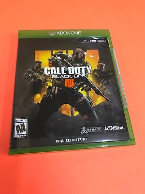 *NEW SEALED* Call of Duty: Black Ops 4 Microsoft Xbox One, 2018 FAST SHIPPING