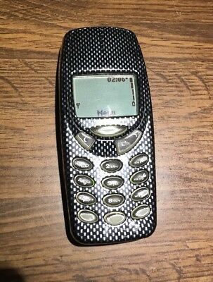 Nokia 3390 Phone, Charger, Battery Working!