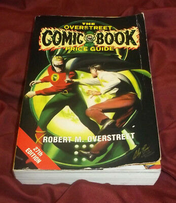 The Overstreet Comic Book Price Guide 27Th Edition 1997