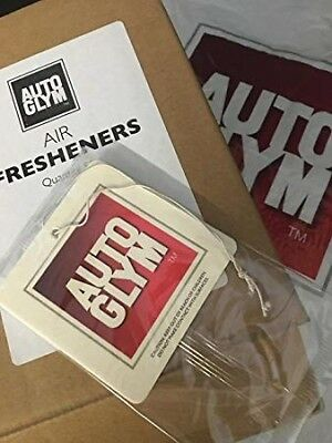 GENUINE AUTOGLYM Hanging Air Fresheners X 25