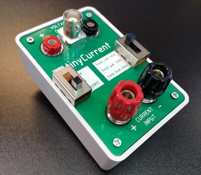 tinyCurrent low Current Measurement Shunt and Amplifier uCurrent Gold Clone