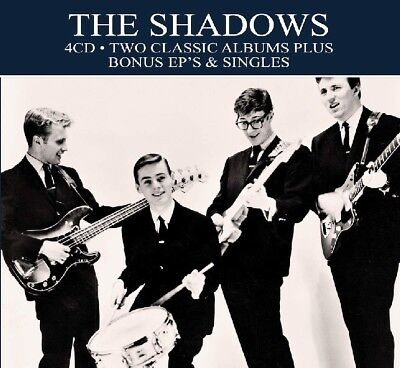 The Shadows TWO (2) CLASSIC ALBUMS + EPs & SINGLES Ultimate Collection NEW 4 CD