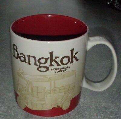 Starbucks Global Icon City Mug BANGKOK, 16 oz neu mit SKU