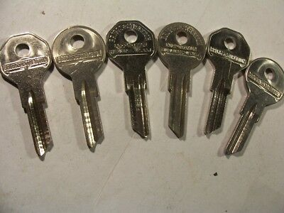 3 Set  Briggs & Stratton  Nos  Master Key  For   Gm  1930 To 1960    Key Blank