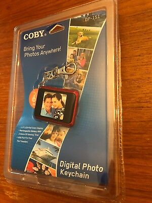 Photo Keychain Coby Digital Photo Keychain DP-151 NIP