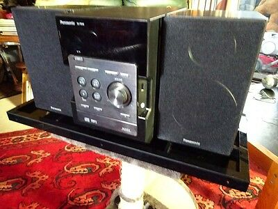 PANASONIC - Micro Stereo Systyem   SA-PM46 , WITH REMOTE,  RRP$260