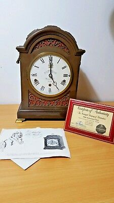 Rare Elliott Of London Garrard Westminster Triple Chime 8 Day Bracket Clock