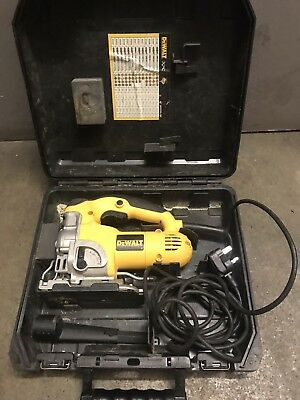 Dewalt DW331k Jigsaw 240V - With Carry Case