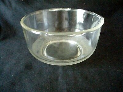 Large Glass Mixing Bowl W/spout For Sunbeam Mixmaster Or Oster Kitchen Center