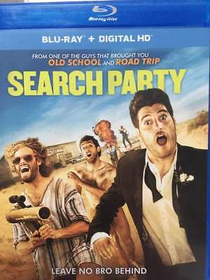 Search Party Blu-Ray No DVD/Digital/Slip Like New FAST FREE Combine Shipping