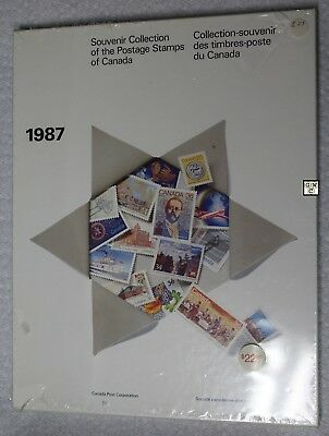 1987 Souvenir Collection of the Postage Stamps of Canada, FV- $18.37 (OOAK)