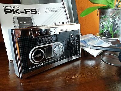 Pioneer Pk-F9 Stereo Fm/am Cassette Player Auto-Reversible