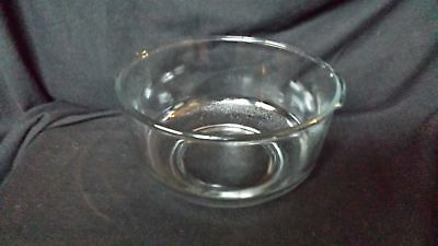 Vintage Large Glass Mixing Bowl For Sunbeam Mixmaster Or Oster Kitchen Center