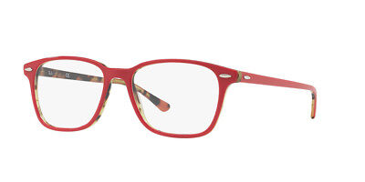 360f97af33 NEW AUTHENTIC RAY BAN RB 7119 5714 Top Brodeaux on Havana Green 55mm 17 145